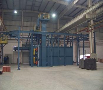 潍坊拖拉机厂|抛丸清理机
